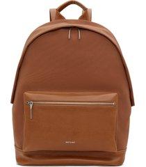 matt & nat balilg large backpack, chili matte nickel