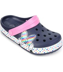 crocs infantil disney minnie mouse