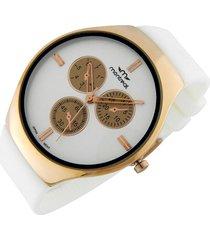 reloj blanco montreal slim