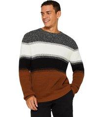 sweater algodón café esprit