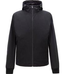 boss men's callero water-repellent three-in-one jacket