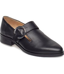 prime buckle shoe loafers låga skor svart royal republiq