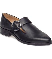 prime buckle shoe loafers låga skor svart royal republiq