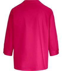 blouse van 100% katoen met 3/4-mouwen van peter hahn roze