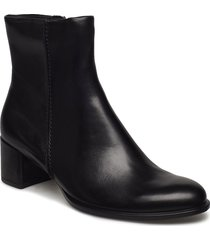 shape 35 block shoes boots ankle boots ankle boots with heel svart ecco