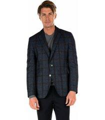 'haylon' wool/cotton blazer