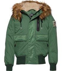 w-burkisk jacket bomberjack jack groen diesel men