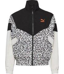 tfs track jacket aop woven sommarjacka tunn jacka svart puma