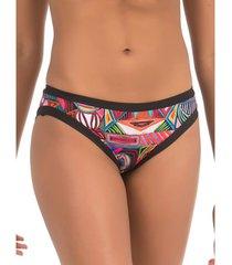 bikini selmark bikinibroekje tribal mare zwart bikinibroekje