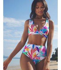 bora bora non wired high apex plunge bikini top