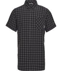 triple canyon™ short sleeve shirt kortärmad skjorta svart columbia