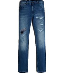 jeans denim slim pants torn dbdw denim guess