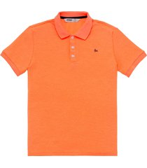 camiseta manga corta naranja neón offcorss