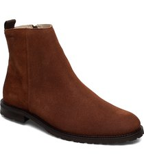 alias city hiker suede ankle boot stövletter chelsea boot brun royal republiq