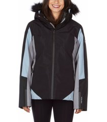 avalanche women's hooded 3 in 1 system jacket