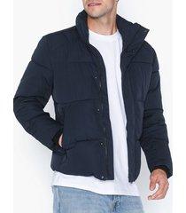 selected homme slhpuffer jacket w jackor mörk blå