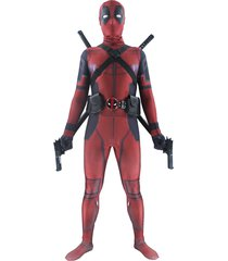 deadpool costumes adult unisex halloween cosplay full bodysuit superhero suits