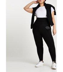 river island womens plus black super skinny fit leggings