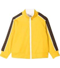 fendi yellow sweatshirt