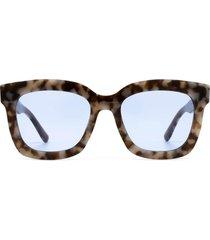 gafas de sol diff carson mocha tortoise+cornflower lens