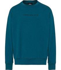 poleron s biay copy sweat shirt verde diesel