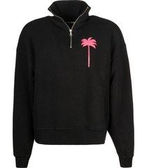 palm angels pxp turtleneck sweatshirt