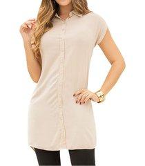 vestido haydi camel para mujer croydon