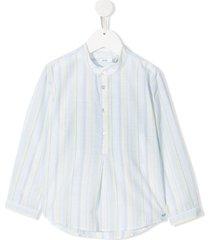 knot brodie tunic shirt - blue