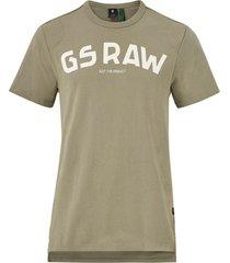 t-shirt gsraw gr r t s/s