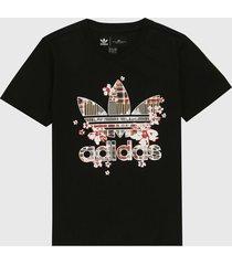 camiseta negro-multicolor adidas originals her studio london