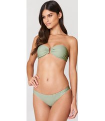 na-kd swimwear bikini panty - green
