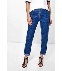 hatty high rise indigo boyfriend jeans