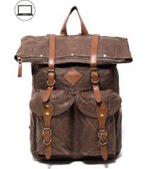mochila dubai marrón rocha