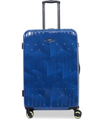 """closeout! revo rain 25"""" hardside expandable spinner suitcase, created for macy's"""