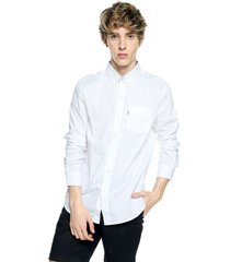 camisa blanco levis