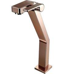 torneira para banheiro mesa  stillo cobre polido bica alta - docol - docol
