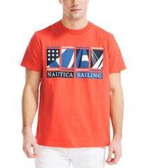 nautica men's graphic t-shirt