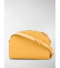a.p.c. mini sac demi-lune shoulder bag
