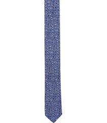 krawat platinum niebieski classic 241