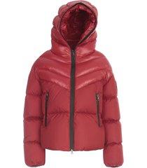 guenioc high neck full zipped padded jacket