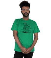 camiseta ventura polarbears verde - kanui