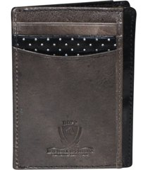 dopp alpha rfid front pocket get-away wallet