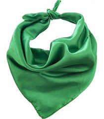 pañuelo verde bohemia liso