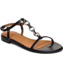 sandals 4141 shoes summer shoes flat sandals svart billi bi