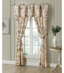 "rose tree mariella pole top panel pair, 84"" x 100"" bedding"