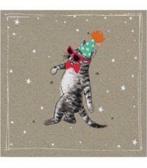 """hammond gower fancy pants cats ii canvas art - 15"""" x 20"""""""