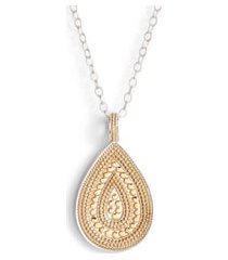 women's anna beck signature reversible long necklace (nordstrom exclusive)