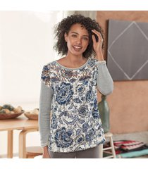 caraway lace pullover