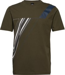 tee tr 2 t-shirts short-sleeved grön boss