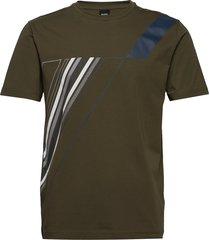 tee tr 2 t-shirts short-sleeved grön boss
